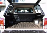 Toyota Hilux Dual Cab tray space