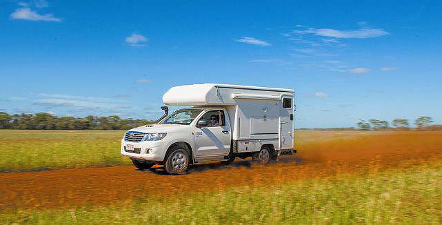 Toyota Hilux Campervan