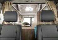Trailfinder interior cab rear
