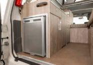 Trailfinder interior kitchen