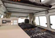Trailfinder interior sleeping